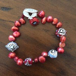 Jewelry - Evil Eye with Pomegranates Bracelet